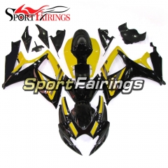 Fairing Kit Fit For Suzuki GSXR600 750 2006 - 2007 - Yellow Black