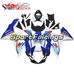 Fairing Kit Fit For Suzuki GSXR600 750 K11 2011 - 2016 - White Blue