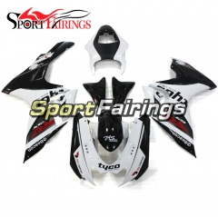 Fairing Kit Fit For Suzuki GSXR600 750 K11 2011 - 2016 - Black White