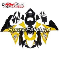 Fairing Kit Fit For Suzuki GSXR600 750 K11 2011 - 2016 - Yellow Black