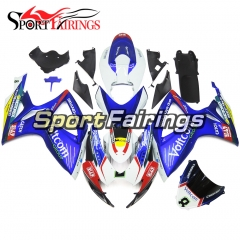 Fairing Kit Fit For Suzuki GSXR600 750 2006 - 2007 - Blue White