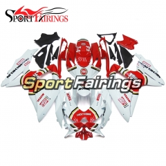 Fairing Kit Fit For Suzuki GSXR600 750 2008 - 2010 - White Red