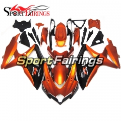 Fairing Kit Fit For Suzuki GSXR600 750 2008 - 2010 - Orange Black