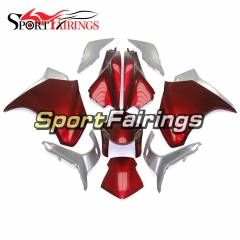 Fairing Kit Fit For Honda VFR1200 2010 - 2013 - Red Silver