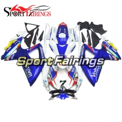 Fairing Kit Fit For Suzuki GSXR600 750 2008 - 2010 - Blue White