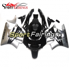 Fairing Kit Fit For Honda CBR600 F3 1995 - 1996 - Silver Black