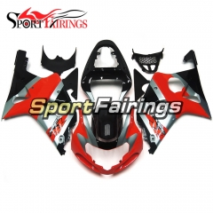 Fairing Kit Fit For Suzuki GSXR1000 K1/K2 2000 - 2002 - Red Black Grey