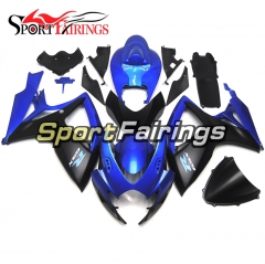 Fairing Kit Fit For Suzuki GSXR600 750 2006 - 2007 - Blue Black