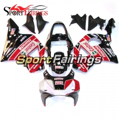 Fairing Kit Fit For Honda CBR900RR 954 2002 - 2003 Black US Flag