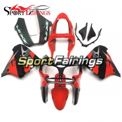Fairing Kit Fit For Kawasaki ZX9R 2000 - 2001 - Red Black