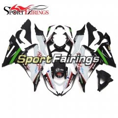 Fairing Kit Fit For Kawasaki ZX6R 2013 - 2017 - Rapid White Black