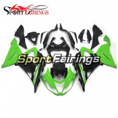 Fairing Kit Fit For Kawasaki ZX6R 2013 - 2017 - Green Black