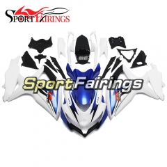 Fairing Kit Fit For Suzuki GSXR600 750 2008 - 2010 - White Blue