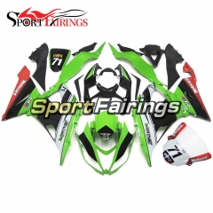 Fairing Kit Fit For Kawasaki ZX6R 2013 - 2017 - Green Red Black