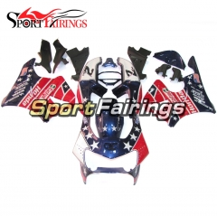 Fairing Kit Fit For Honda CBR900RR 919 1998 - 1999 US Flag