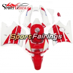 Fairing Kit Fit For Honda CBR600 F2 1991 - 1994 - White Red