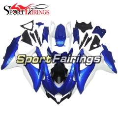 Fairing Kit Fit For Suzuki GSXR600 750 2008 - 2010 - Blue Black White
