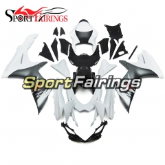 Fairing Kit Fit For Suzuki GSXR600 750 K11 2011 - 2016 - White Silver