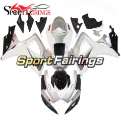 Fairing Kit Fit For Suzuki GSXR600 750 2006 - 2007 - Silver White Black