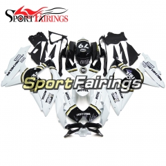 Fairing Kit Fit For Suzuki GSXR600 750 2008 - 2010 - White Black Gold