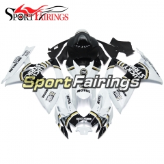Fairing Kit Fit For Suzuki GSXR600 750 2006 - 2007 - Gloss White Black