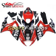 Fairing Kit Fit For Suzuki GSXR600 750 2006 - 2007 - Red Black