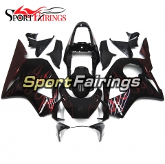 Fairing Kit Fit For Honda CBR900RR 954 2002 - 2003 Black Red Flame