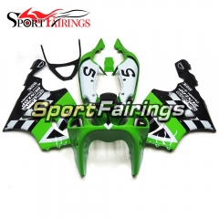 Fairing Kit Fit For Kawasaki ZX7R 1996 - 2003 - Silkolene Green Black