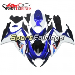 Fairing Kit Fit For Suzuki GSXR600 750 2006 - 2007 - Blue White Black