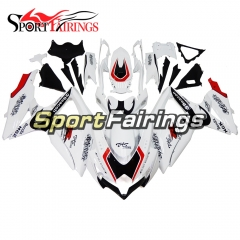 Fairing Kit Fit For Suzuki GSXR600 750 2008 - 2010 - White Black