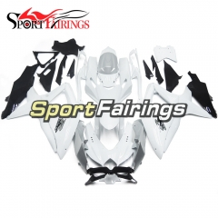 Fairing Kit Fit For Suzuki GSXR600 750 2008 - 2010 - White Grey