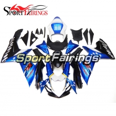 Fairing Kit Fit For Suzuki GSXR600 750 K11 2011 - 2016 - Blue Black