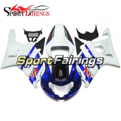 Fairing Kit Fit For Suzuki GSXR1000 K1/K2 2000 - 2002 - White Blue Black