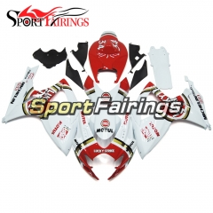 Fairing Kit Fit For Suzuki GSXR600 750 2006 - 2007 - Gloss White Red