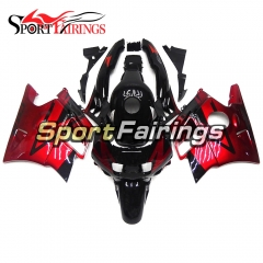 Fairing Kit Fit For Honda CBR600 F2 1991 - 1994 - Red Black