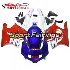 Fairing Kit Fit For Honda CBR600 F3 1995 - 1996 - Red White Blue