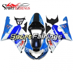 Fairing Kit Fit For Suzuki GSXR1000 K1/K2 2000 - 2002 - Gloss Blue White