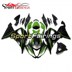 Fairing Kit Fit For Kawasaki ZX6R 2013 - 2017 - Black Green