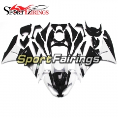 Fairing Kit Fit For Kawasaki ZX6R 2009 - 2010 - White Black