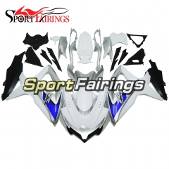 Fairing Kit Fit For Suzuki GSXR600 750 2008 - 2010 - White Silver