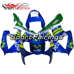 Fairing Kit Fit For Honda CBR900RR 929 2000 - 2001 - Movistar Blue