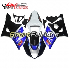 Fairing Kit Fit For Suzuki GSXR1000 K3 2003 - 2004 - Dark Blue White