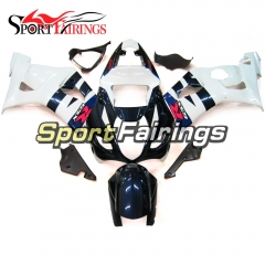 Fairing Kit Fit For Suzuki GSXR1000 K3 2003 - 2004 - White Blue