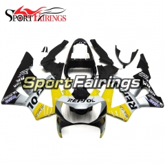 Fairing Kit Fit For Honda CBR900RR 929 2000 - 2001 - Yellow Silver Black
