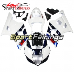 Fairing Kit Fit For Suzuki GSXR1000 K3 2003 - 2004 - White Dark Blue