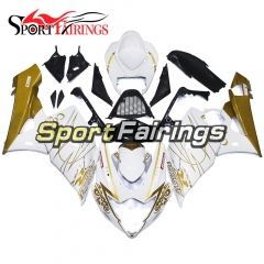 Fairing Kit Fit For Suzuki GSXR1000 K5 2005 - 2006 - White Gold