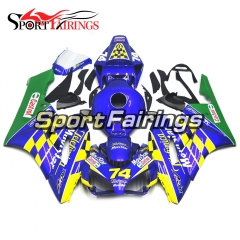 Fairing Kit Fit For Honda CBR1000RR 2004 - 2005 - Blue Green Yellow