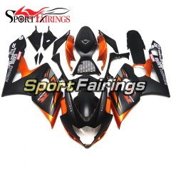 Fairing Kit Fit For Suzuki GSXR1000 K5 2005 - 2006 - Black Orange