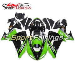 Fairing Kit Fit For Kawasaki ZX10R 2006 - 2007 -Elf Green Black