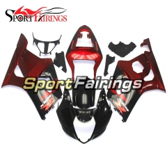 Fairing Kit Fit For Suzuki GSXR1000 K3 2003 - 2004 - Red Black